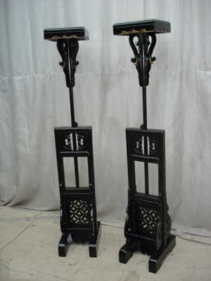 Pair of antique Chinese lanterns