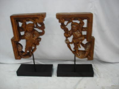 Antique Chinese Nanwood carvings