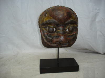 Antique Chinese Wooden Mask