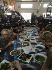 American Women Association of Hong Kong antique Chinese furniture warehouse lunch