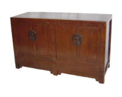 Antique Chinese four door sideboard