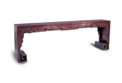 Antique Chinese Long scroll table