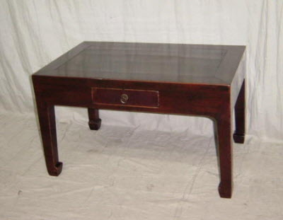 Antique Chinese Elmwood kang table