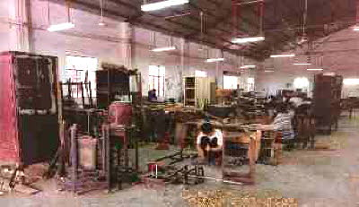 Zhuhai, antiques Chinese furniture warehouse