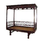 antique Chinese beds, day beds, opium beds, canopy beds