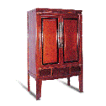 antique Chinese cabinets, lacquer wedding cabinets, medicine chests