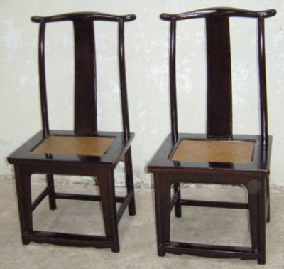 Pair ... - Chinese Antique Chairs, Benches, Antique Chinese Furniture