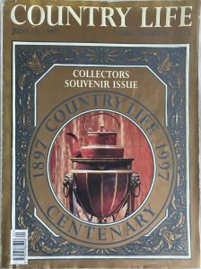 Country Life - Collectors Centenary Souvenir Edition 1897 to 1997, 12 June 1997 - (cover)